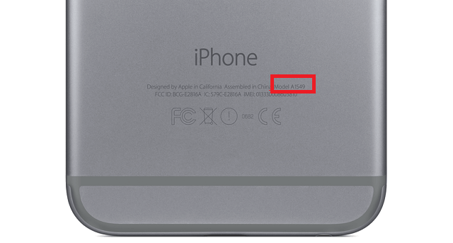 Iphone Model A1586 >> Iphone Modelinizi Belirleme Blackapple Servis